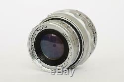 Leica Leitz Elmar 9cm 14 collapsible lens (Leica M mount)