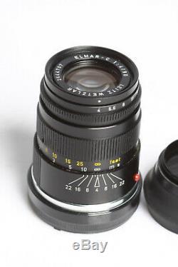 Leica Leitz Elmar-C 4/90mm black