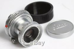 Leica Leitz Elmar-M 3,5/5 Germany Lens 3,5/50 versenkbar chrom