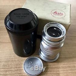 Leica Leitz Elmar M39 4/9cm all chrome Sammlerstück in OVP