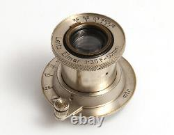 Leica Leitz Elmar Nickel 13,5 f=50 mm #137153 M39 Gewinde