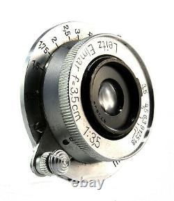 Leica Leitz Elmar f=3,5 cm 13.5 Weitwinkel für M39 Lens 36898