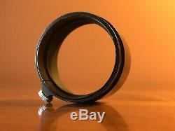 Leica Leitz FLQOO (FOOKH) lens hood for Elmar 3,5cm Black Paint RARE
