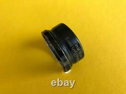 Leica Leitz Gegenlichtblende FISON black. Lens hood for Elmar 5cm