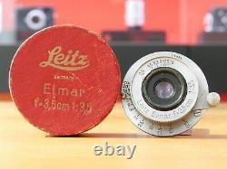 Leica Leitz M Elmar 3,5cm 35mm F/3.5 M39 1939 Leica Store Nürnberg
