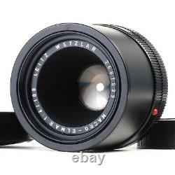 Leica Leitz Macro Elmar 100mm f4 R Mount Bellows Lens #1539 Looks Unused