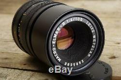 Leica Leitz Macro-Elmar-R 100mm 14, 3-cam lens (Leica R mount)