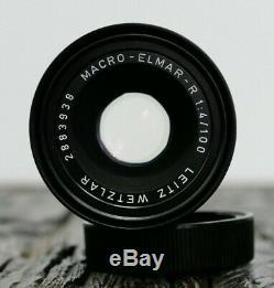 Leica Leitz Macro Elmar R 100mm F4 14/100 mit Macro adap Leica Store Nürnberg