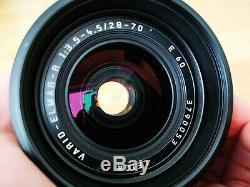 Leica Leitz ROM Vario Elmar R 28-70mm f3.5-f4.5 E60 lens R8 R9