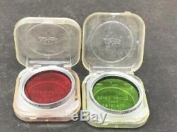 Leica Leitz SUMMARON f=3.5 cm 13.5 35mm lens & Elmar F=5 Cm 135 & Filters