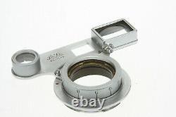 Leica Leitz Set Elmar 3,5/50 #501817 M39 m. Naheinstellgerät Leica M