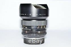 Leica Leitz Super Elmar R 15 3,5 Garanzia Topmarketfotovideo. Com 23762