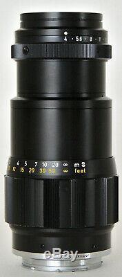 Leica Leitz Tele-elmar-m 135mm F/4 Lens