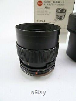 Leica Leitz Vario-Elmar-R 35-70MM F3.5 Lens in Box and in EC