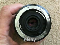 Leica Leitz Vario-Elmar-R 35-70mm f3.5 3-Cam Zoom Lens and B+W UV-Haze Filter