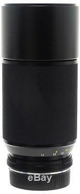 Leica Leitz Vario-Elmar-R 70-210mm F4 E60 Lens. Case For Leica R Mount