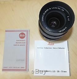 Leica (Leitz) Vario Elmar -R E67 13,5/35-70 TOP Zustand mit Zertifikat