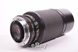 Leica Leitz Vario Elmar-R f/4.5 80-200mm with filter, front and rear cap
