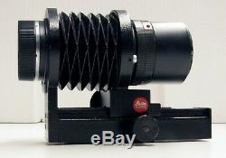 Leica Leitz Wetzlar 100mm F/4 Macro-Elmar R Mount Lens with Bellows