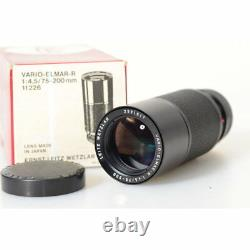 Leica / Leitz Wetzlar 11226 Vario-Elmar-R 4,5/75-200mm Zoom