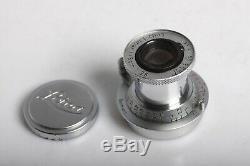 Leica Leitz Wetzlar ELMAR 3,5/5cm GERMANY RED SCALE M39 versenkbar 3,5/50