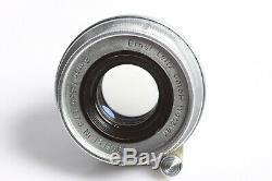 Leica Leitz Wetzlar Elmar M39 2,8/50 Germany Lens versenkbar 2,8/5cm