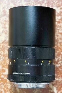 Leica Leitz Wetzlar Elmar R 180mm f4 3 Cam Telephoto Lens