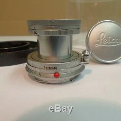 Leica Leitz Wetzlar Elmar f=5 cm 1 2.8 / 50 mm (2)