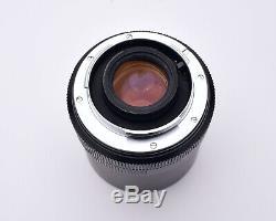 Leica Leitz Wetzlar Macro-Elmar f/4 100mm Lens with Bellows & Caps READ (#5942)