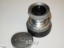 Leica Leitz Wetzlar Objektiv Elmar-M 2,8/50mm Germany Standardobjektiv (11112)