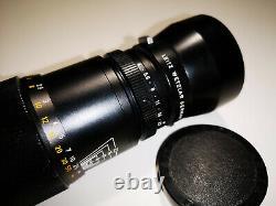 Leica Leitz Wetzlar Tele-Elmar 135mm f4 lens