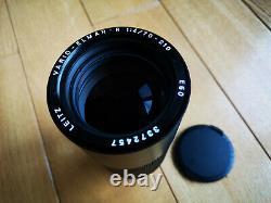Leica Leitz Wetzlar Vario-Elmar R 70-210mm f4 lens 3 cam