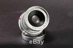 Leica M Elmar 50mm f3.5 collapsible w Front cap Leitz Wetzlar -Exc+++++ M mount