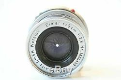 Leica M Leitz Elmar 5cm f2.8 lens