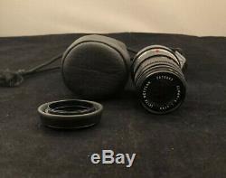 Leica M Mount LEITZ WETZLAR ELMAR-C 90mm F4 Black Lens From Japan