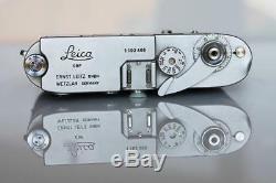 Leica M1 with Leitz Wetzlar Elmar 14/90 lens