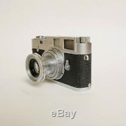 Leica M2 35mm Film Range Finder Camera, 50mm f/2.8 Leica Elmar Lens Leitz