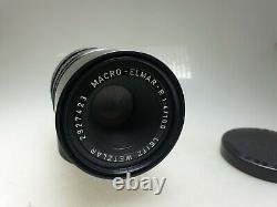 Leica Macro-Elmar-R 14 100mm Leitz 3CAM Objektiv Leica R Anschluss