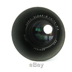 Leica R Leitz Vario Elmar R 14/70-210 E60 Objektiv lens + caps