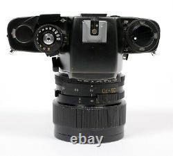 Leica R4s 35mm SLR film camera with Leitz Vario Elmar R 35-70mm F3.5 zoom lens