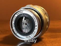 Leica (SUMMARON 35mm f/3.5) + (ELMAR 90mm f/4) Lenses M2 M3 M4 M5 M6 M Mount