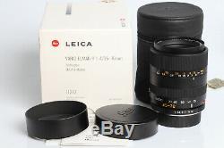 Leica Vario-Elmar-R 14/35-70mm ROM 11277 35-70 f4 R6 R7 R6.2 R8 R9 DMR MINT-