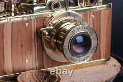 Leica camera Leitz Elmar lens 13.5 (Fed Zorki copy) Limited Edition