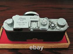 Leica iiic 3c (Wallace Heaton) + Leitz Elmar 50mm f3.5 lens. (both 1949)
