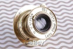 Leica lens 3.5/50 mm M39 Zeiss Eleitz Wetzlar Leitz Elmar