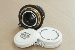 Leica lens, Leitz Elmar 3.5/50 mm RF M39 Zeiss Eleitz Wetzlar, Limited edition