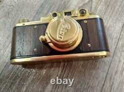Leica olympic vintage camera 35 mm Leitz Elmar lens (Zorki copy)ideal conditio