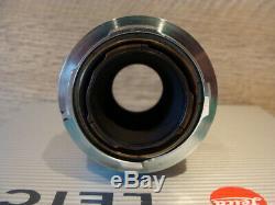 Leitz 11631 Objektiv Leitz Elmar- M 14/90mm collasabile silber RAR