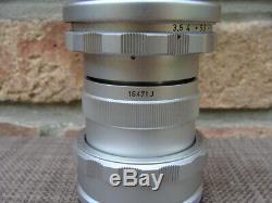 Leitz Canada Leitz Leica ELMAR 3,5/65mm Tubus 16471J Visoflex Lens Top