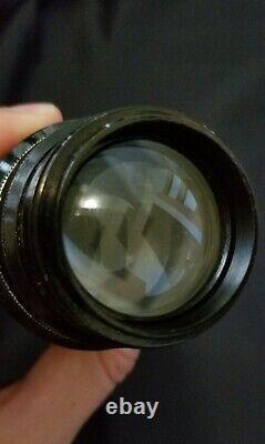 Leitz Elmar 135mm f/4.5 Non-standard Uncoupled lens S/N 231
